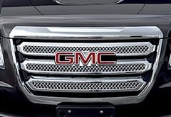 Chevrolet Silverado Black Horse Tape-On Chrome Grille