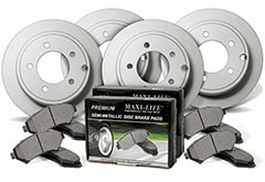 BMW 3-Series Maxim Geomet Coated Metallic Brake Kit