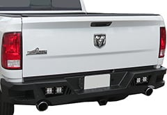 Black Horse Armour Rear Bumper