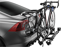 Toyota Highlander Thule Raceway Trunk Bike Rack
