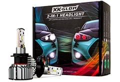 XK Glow 2-in-1 LED Headlight + Multi-Color Devil Eye