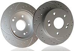 Maxim Drilled & Slotted Brake Rotors