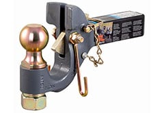 Curt SecureLatch Receiver Mount Ball & Pintle Hitch