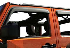 Rugged Ridge Tape-On Window Vent Visors