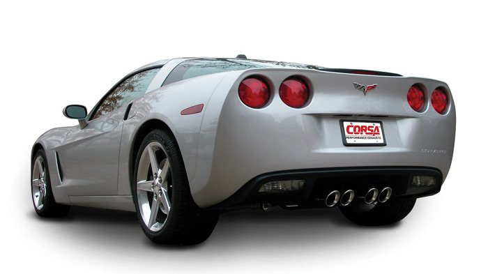 Performance Exhaust On Corvette