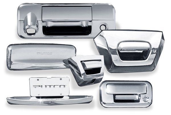 Putco Chrome Trim Tailgate Handle Cover