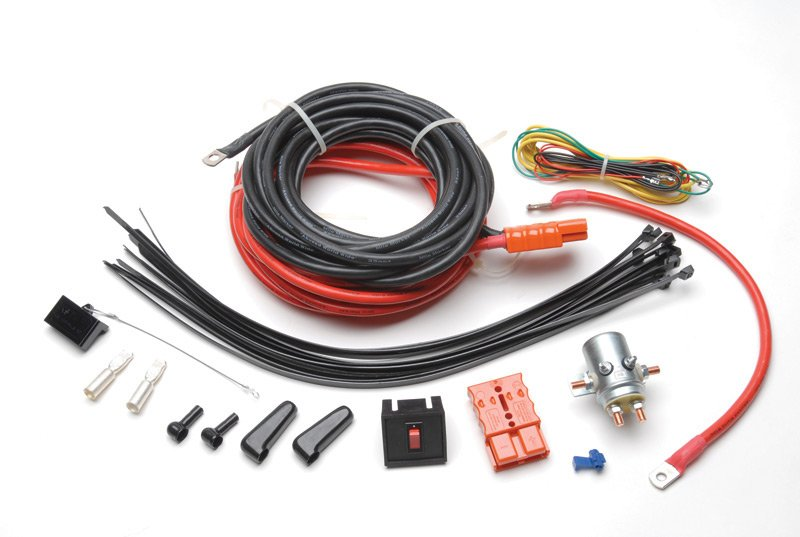 Mile Marker Quick Winch Disconnect Kit on
