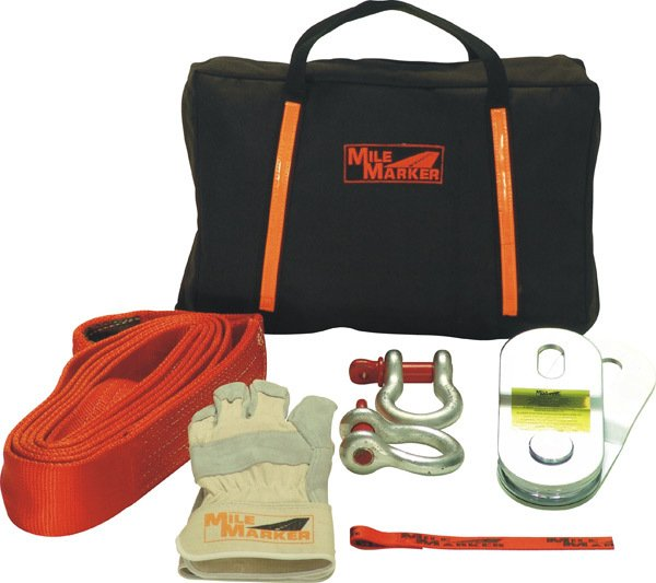 Mile Marker Winch Kit Accessory Bag