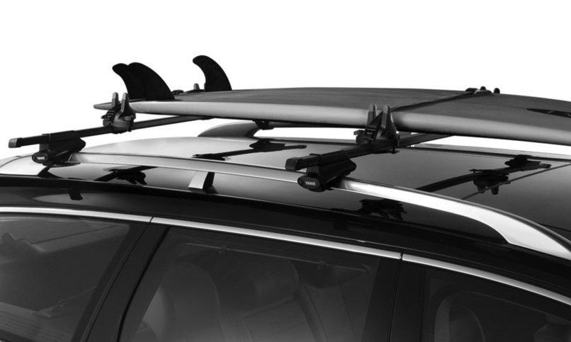 Jeep Wrangler Aftermarket Parts >> Thule 554XT Hang Two Surfboard Carrier, Surfboard Rack