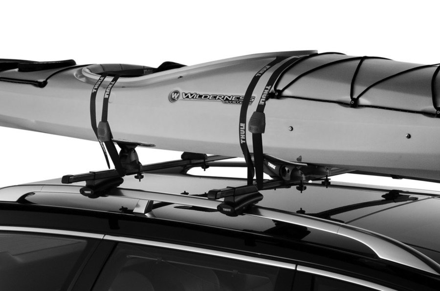 Kayak Roof Carrier >> Thule Glide and Set Kayak Carrier