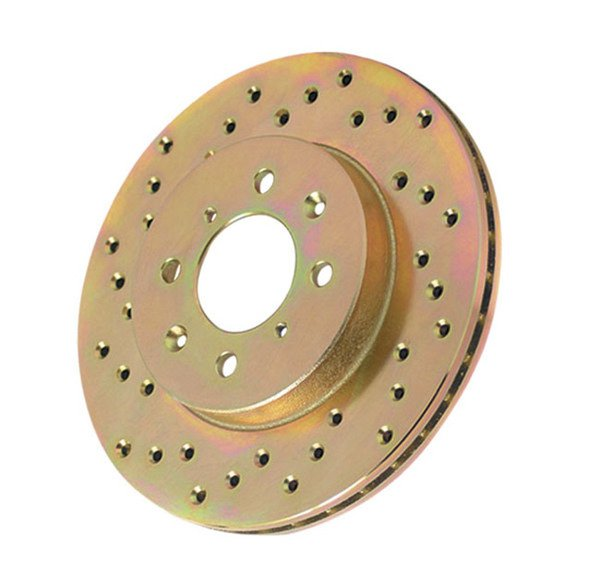 Power Stop Cross Drilled Rotors