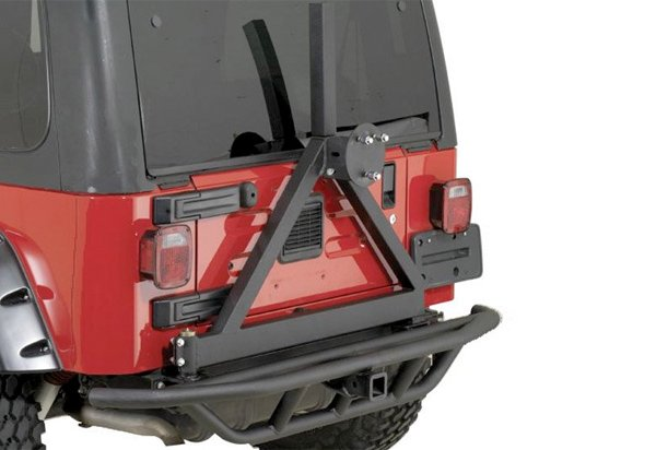 Rugged Ridge Rock Crawling Rear Tube Bumper