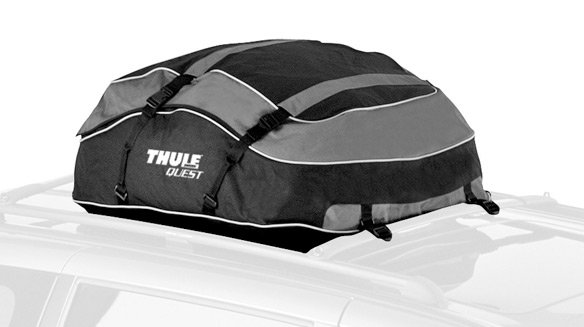 thule 846 quest roof cargo bag thule quest roof mount