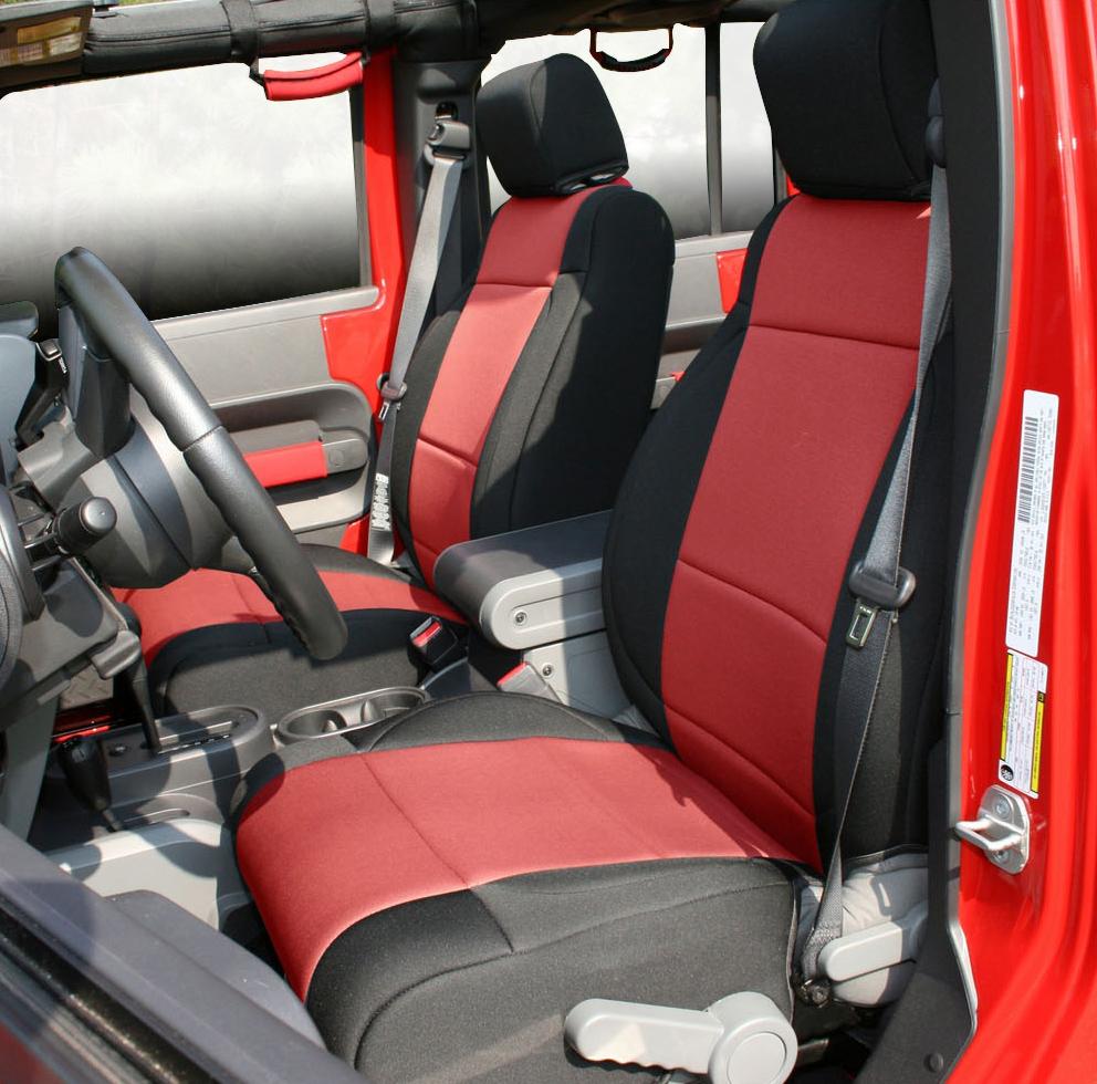Rugged ridge custom neoprene seat covers for Interior jeep accessories