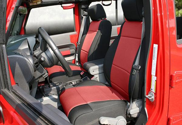 Miraculous Rugged Ridge Custom Neoprene Seat Covers 13264 01 Gamerscity Chair Design For Home Gamerscityorg