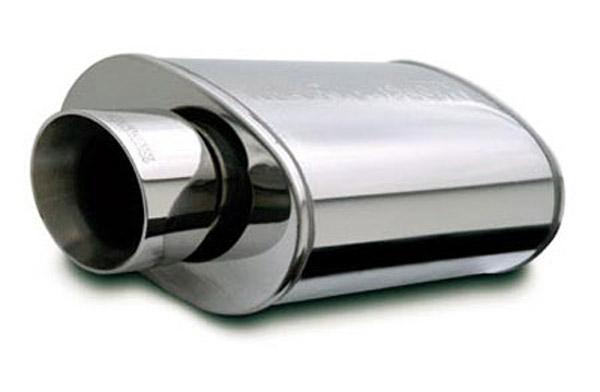 MagnaFlow Street Muffler w// Dual Square DTM Tips 14804
