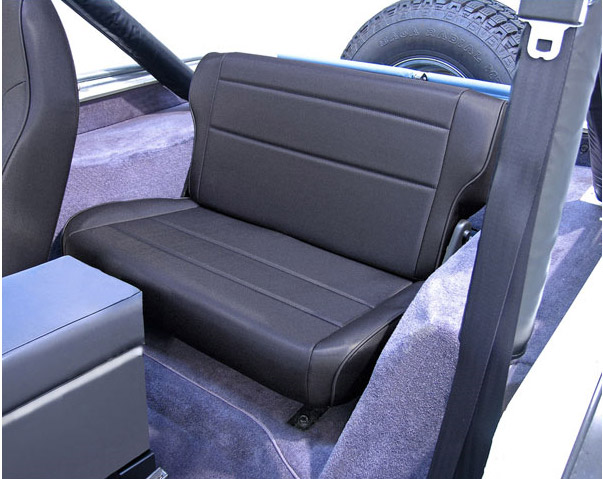 Rugged Ridge Rear Fold And Tumble Seat Free Shipping