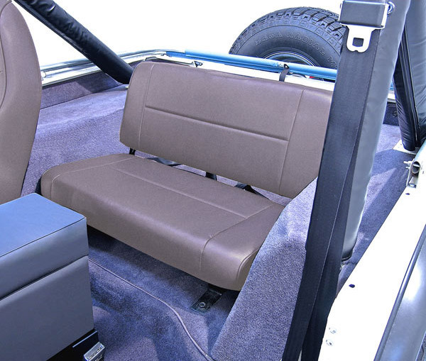 Rugged Ridge Rear Standard Bench Replacement Seat