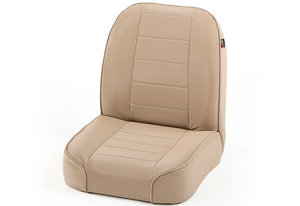 Rugged Ridge Rear Standard Low Back Replacement Seat