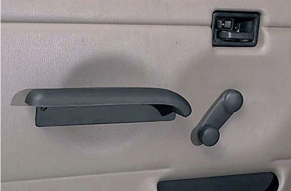 Rugged Ridge Hard Door Arm Rests