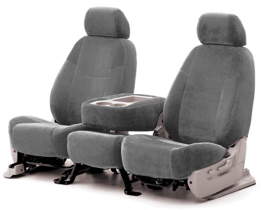 Coverking suede seat covers for Garage seat nevers