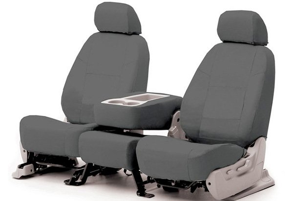 Coverking poly cotton seat covers for Garage seat nevers