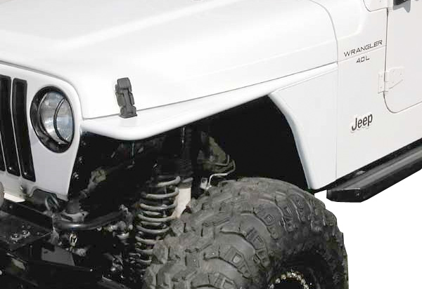 Rugged Ridge RRC Tubular Flat Fenders