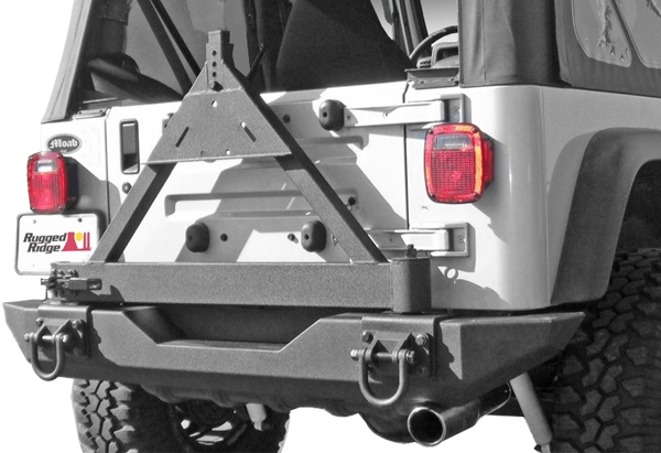 Rugged Ridge Rear XHD Bumper