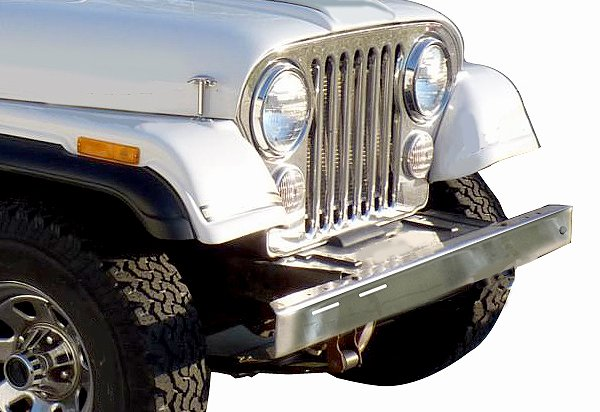 Rugged Ridge Front Bumper Overlay