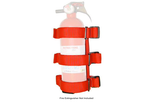 Rugged Ridge Roll Bar Fire Extinguisher Holder
