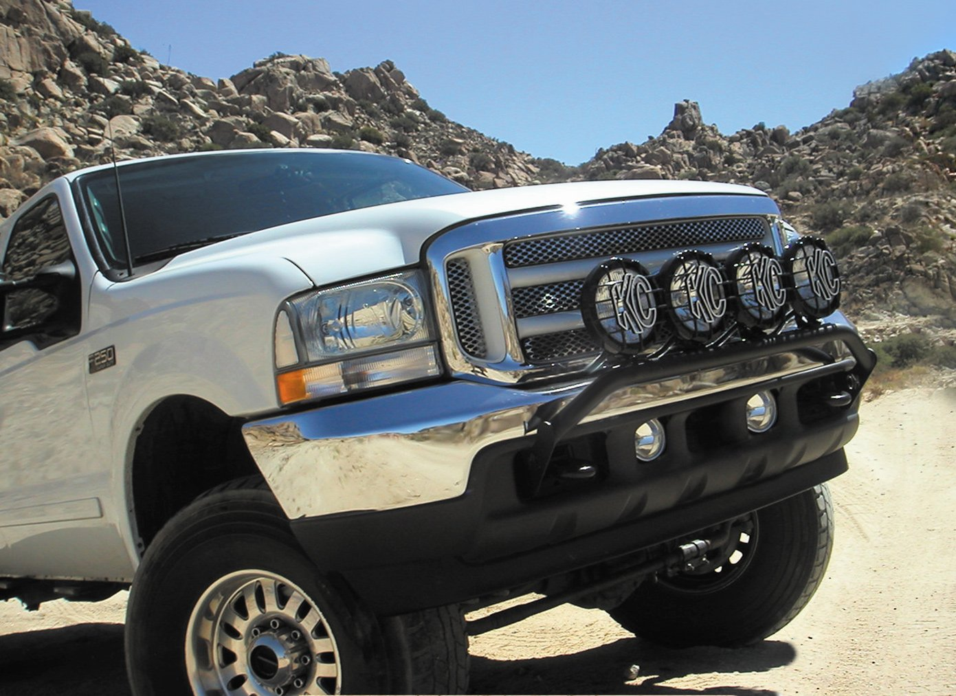 Kc hilites front light bar mozeypictures Image collections