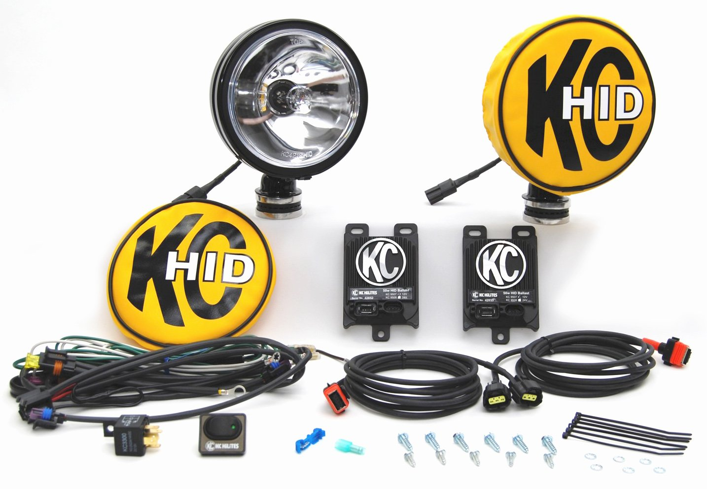 kc hilites hid daylighter long range light kit
