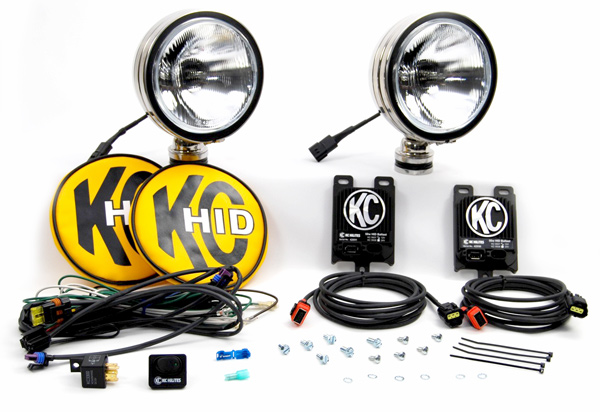 KC Hilites HID DayLighter Driving Light Kit