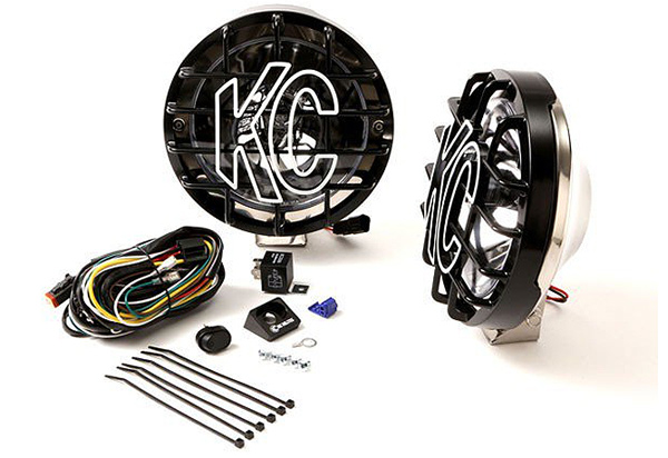 KC Hilites Rally 800 Round Long Range Light Kit