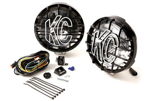 KC Hilites Rally 800 Round Driving Light Kit