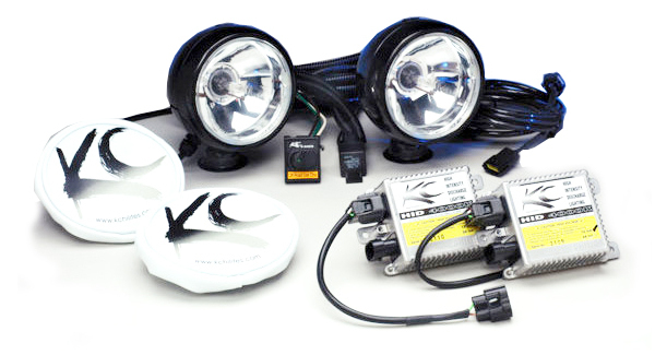 KC Hilites HID Long Range Light Kit