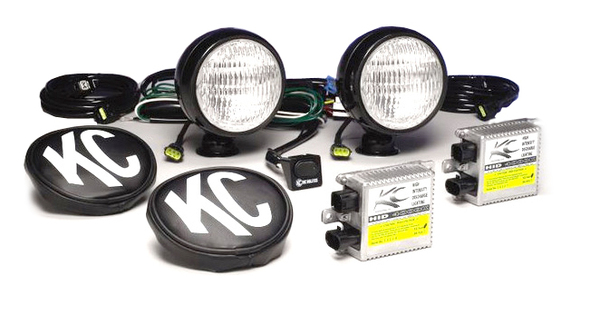 KC Hilites HID Flood Light Kit