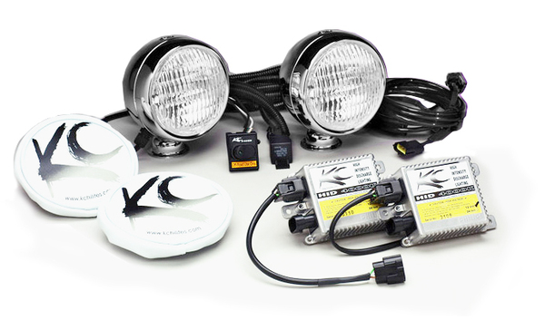KC Hilites HID Driving Light Kit