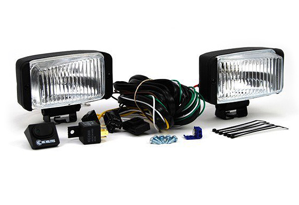 KC Hilites 35 Series Wide Beam Driving Light Kit
