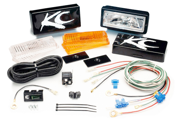 KC Hilites 26 Series All Season Light Kit