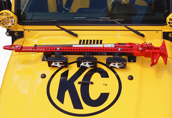 KC Hilites Hood Mount Utility Light Bar