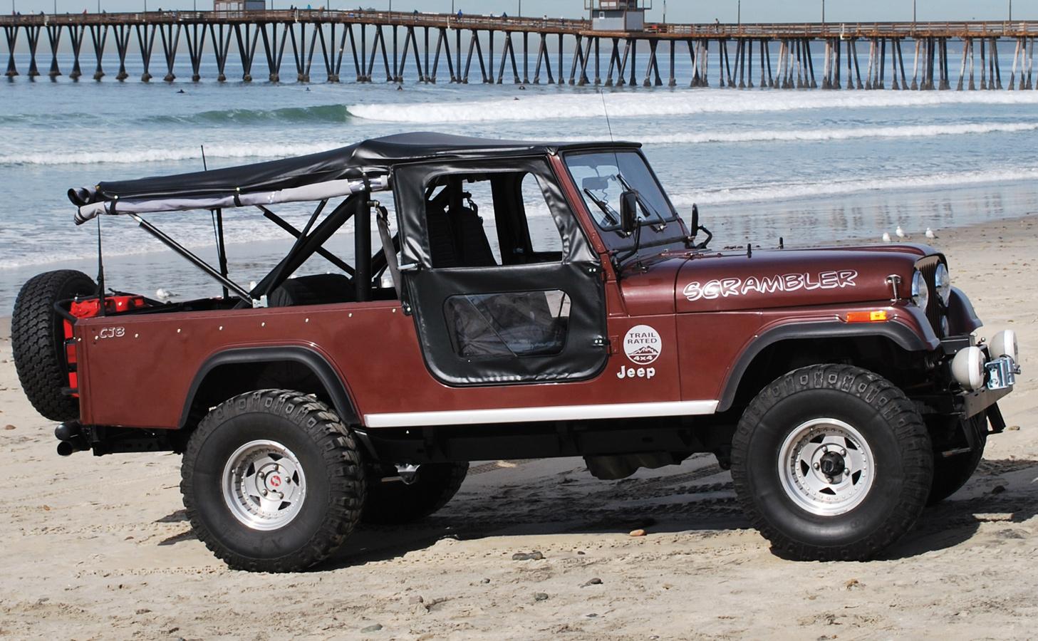 1976 1986 Jeep Cj7 Bestop Tigertop Soft Top Bestop 51408 01