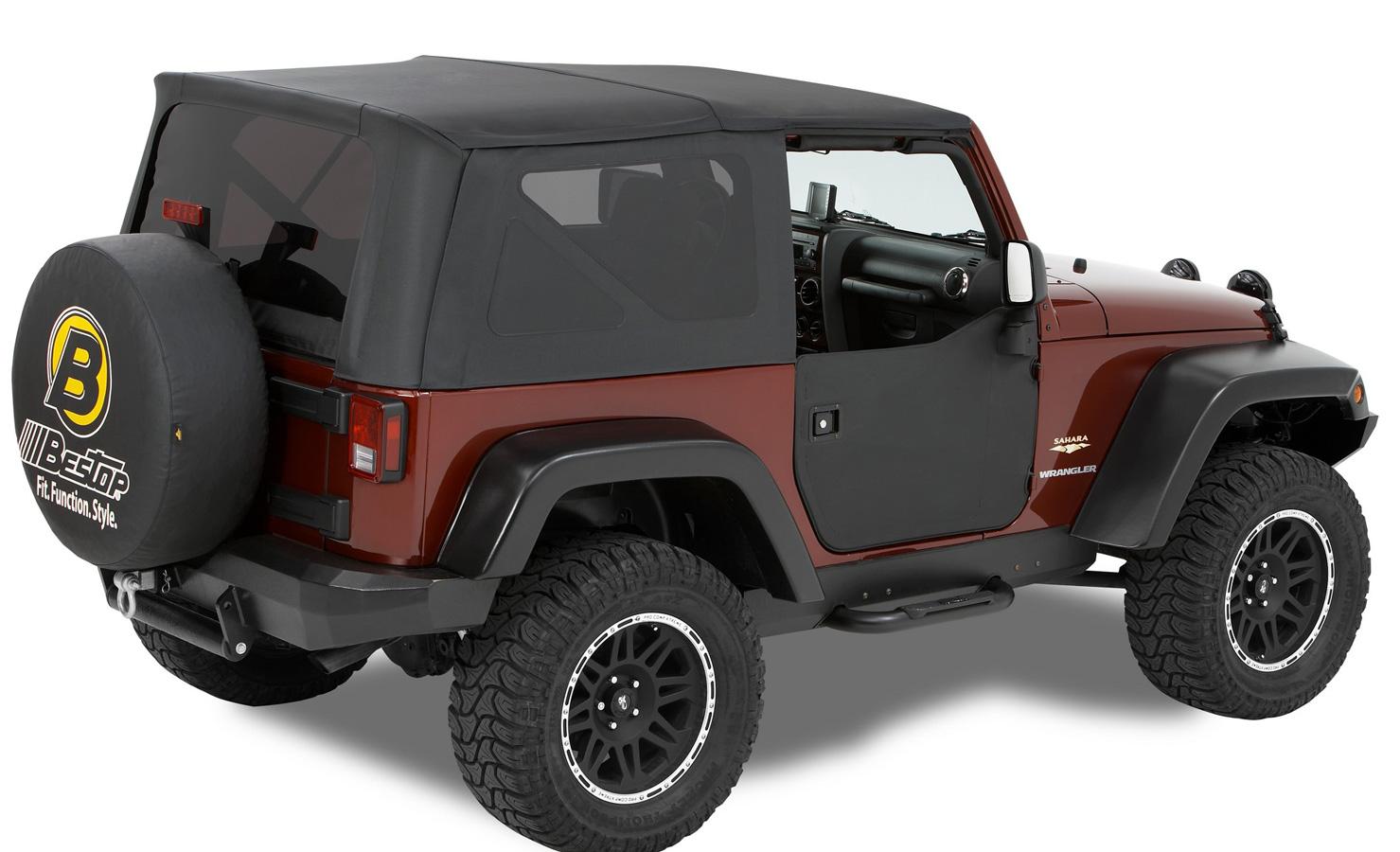 1976 1995 Jeep Wrangler Bestop Half Doors Bestop 53038 15