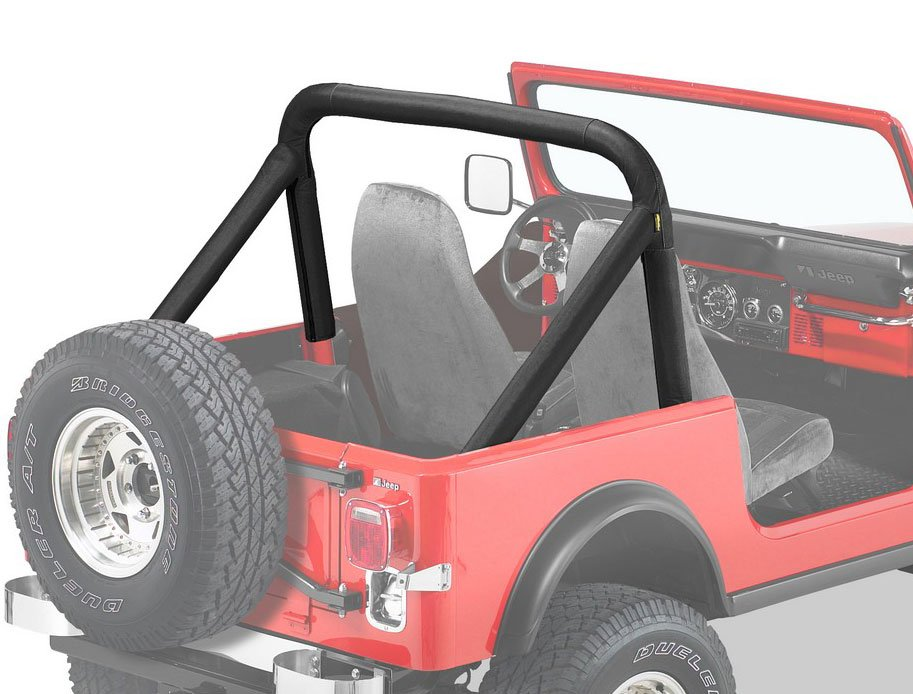 Bestop sport bar cover - Jeep cherokee exterior roll cage ...
