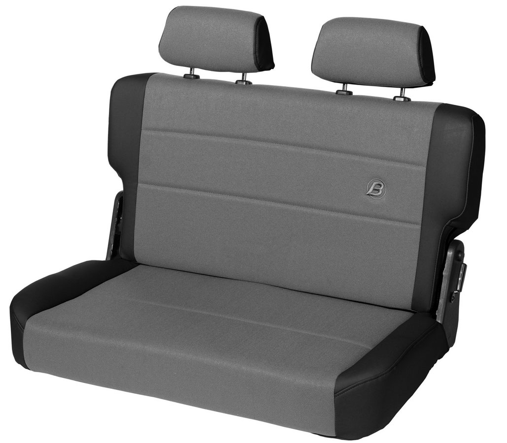 Bestop Trailmax Ii Fold Tumble Rear Bench Seat For Wrangler 39441 15 New Ebay