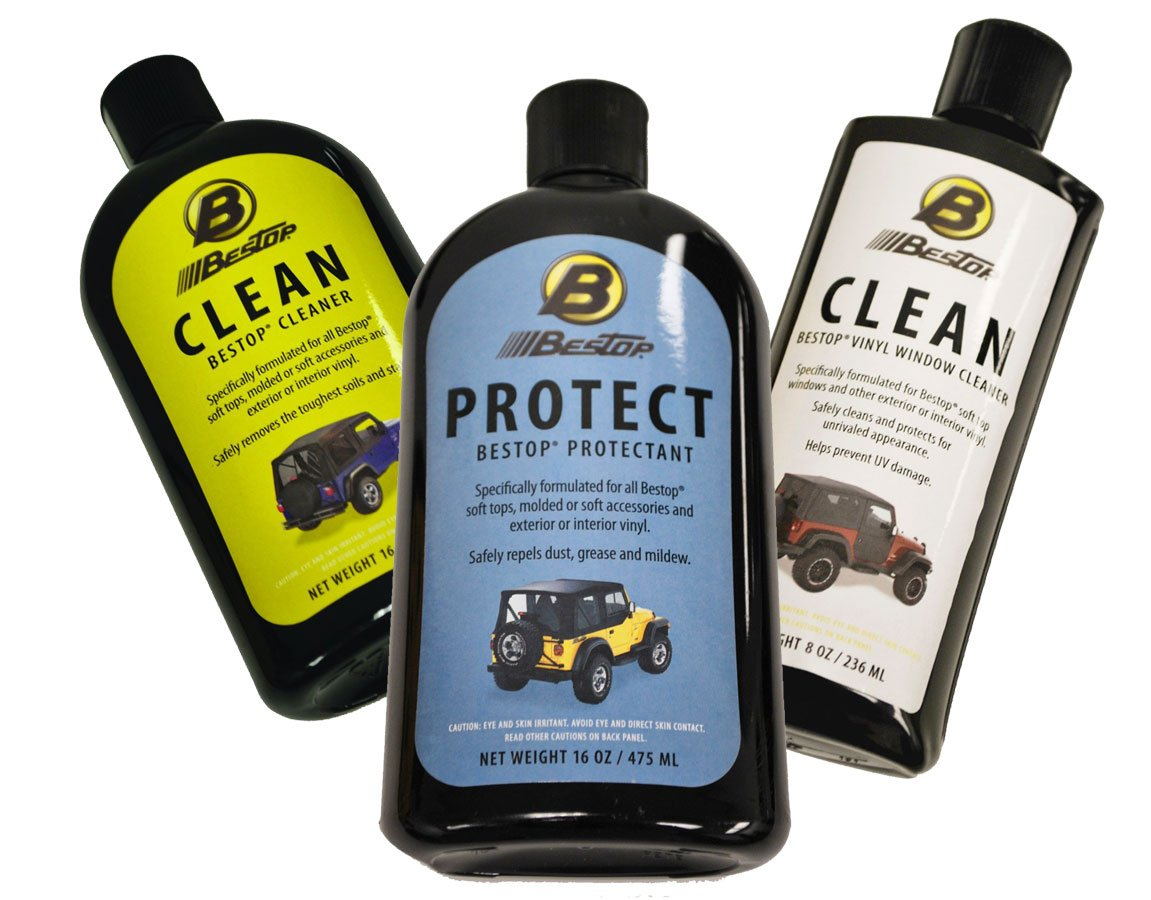 Jeep Soft Top Cleaner And Protectant