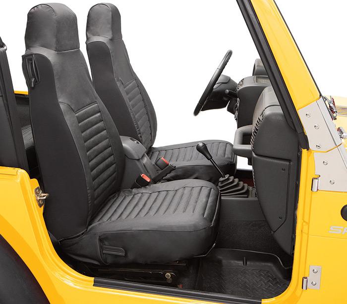 1986 1991 jeep wrangler bestop seat cover bestop 29227 15 for Interior jeep accessories