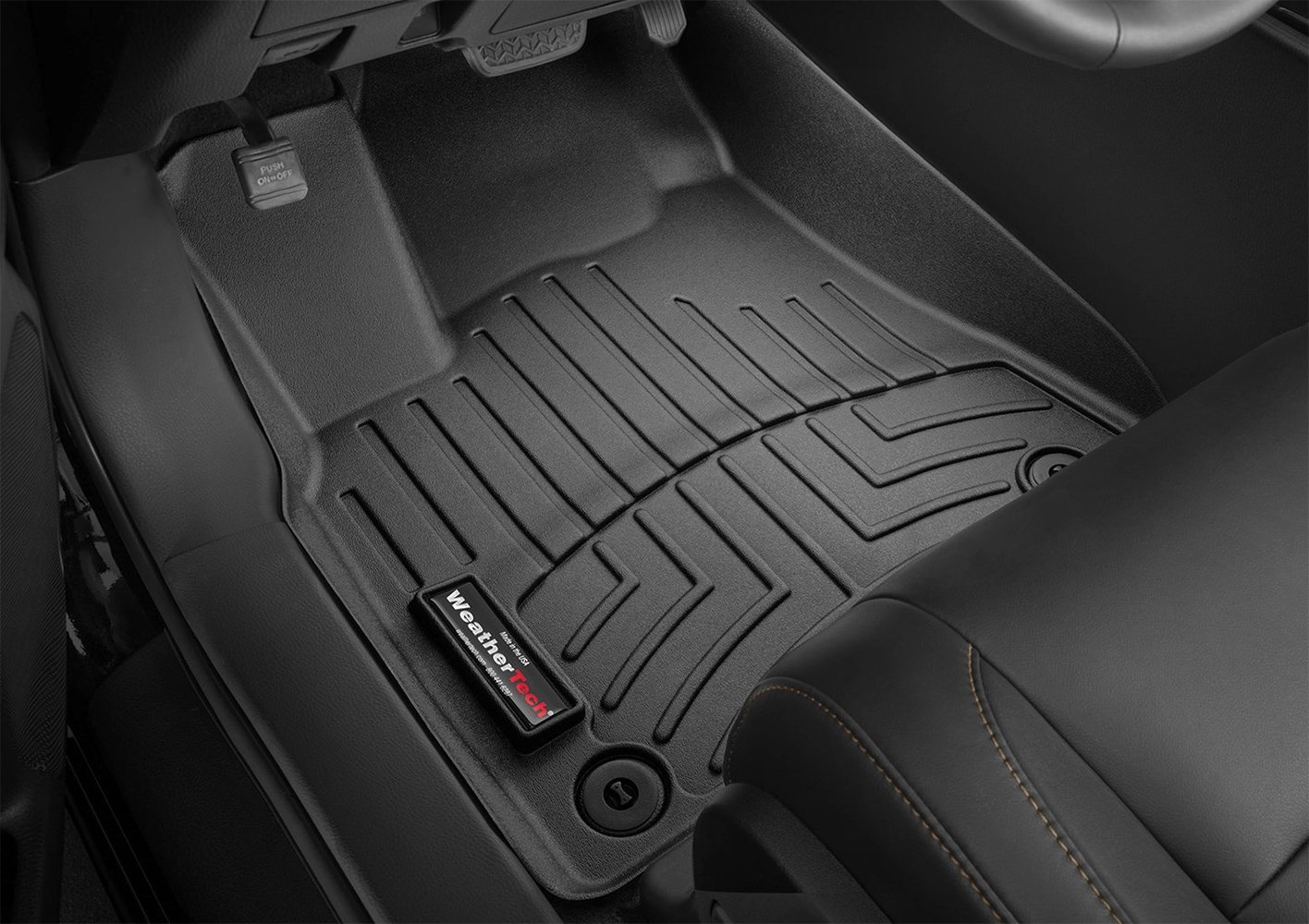 mats mat rear front black weathertech digitalfit mustang floor