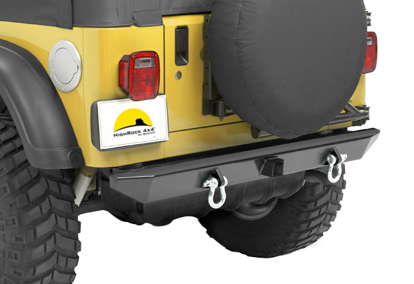 Bestop HighRock 4x4 Rear Bumper