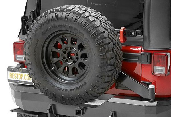 Bestop HighRock 4x4 Oversized Tire Carrier